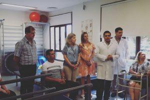 Hospital Escuela: A un mes de la inauguración del Taller de Prótesis y Órtesis se realizó la primera entrega de prótesis