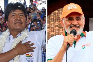 Bolivia: Morales y Mesa se diputan el poder en unas reñidas elecciones