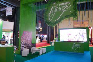 Misiones destaca sus bellezas naturales en la babel de la Feria Internacional de Turismo