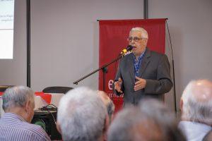 García Coni presentó un nuevo libro junto a personalidades del deporte y la política
