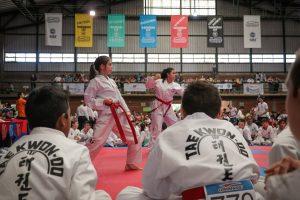 Passalacqua participó del acto de apertura del encuentro internacional de Taekwondo que se realiza en Posadas