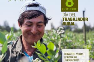 En el Día del Trabajador Rural, el RENATRE renueva su compromiso con la plena registración laboral