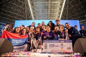 Estudiantes misioneros competirán en el Mundial de Robótica