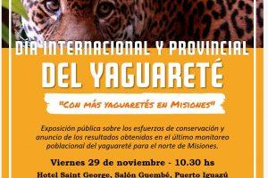 En Iguazú celebrarán el día del Yaguareté