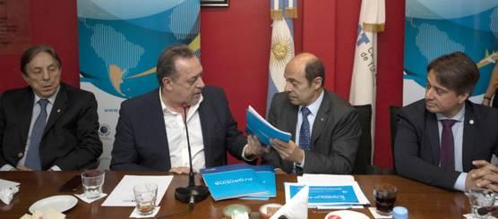 Gustavo Santos presentó ante la CAT un balance de su gestión