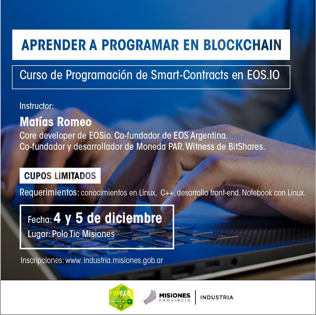 Industria capacitará en programación de Blockchain