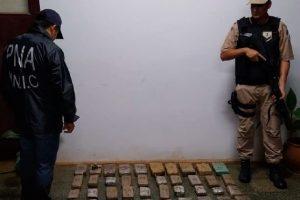 Lucha contra el narcotráfico: Prefectura decomisó marihuana valuada en casi 3 millones de pesos