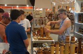 Más de 40 mil personas pasaron por la Feria de Artesanías del Mercosur