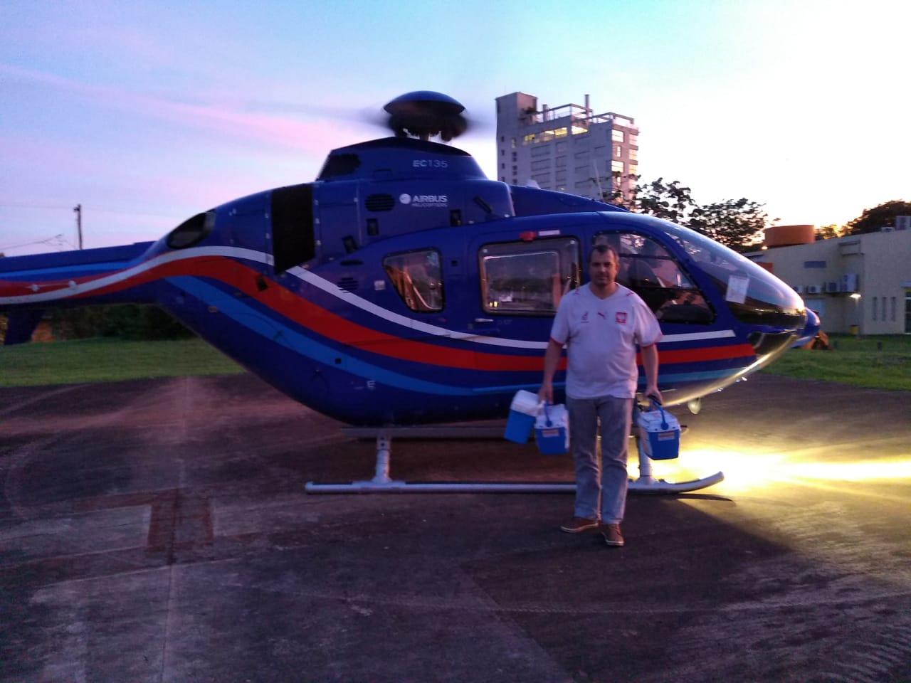 Cuando el helicóptero oficial salva vidas y el Incucai es un espejo del país que queremos