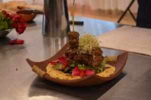 El cordero serrano misionero cómo un plato gourmet