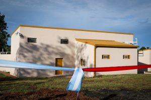 Passalacqua inauguró el frigorífico de San José donde se faenarán ovejas y cabras del Sur de la provincia