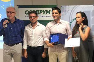 El premio joven empresario misionero de la CEM fue para Leandro Nadal por el desarrollo de cosmética vegetal