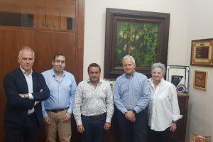 Herrera Ahuad recibió a una delegación del BID