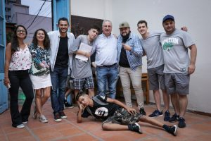 Passalacqua acompañó a jóvenes en competencia de Freestyle en Posadas