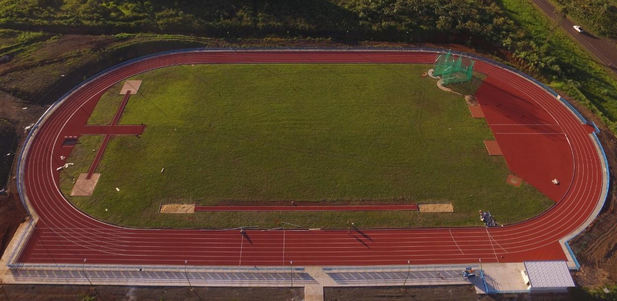 Con figuras nacionales, el viernes se inaugura la pista de atletismo sintética del Cepard