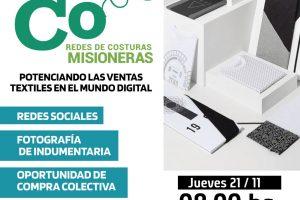 Redes de Costuras Misioneras: buscan promover el desarrollo al sector textil