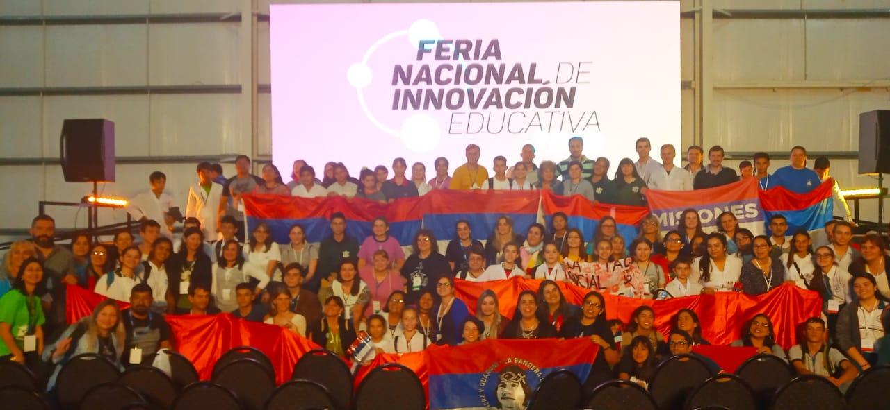 Misiones obtuvo ocho menciones en la feria nacional de innovación educativa