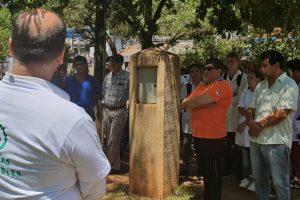 Construyeron dos cargadores públicos de celulares en San Vicente y El Soberbio