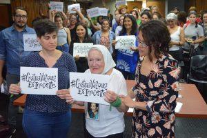 Nora Cortiñas, «la Madre de todas las batallas» reclama justicia por Cristina Vázquez