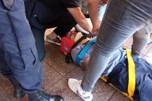 Conflicto «tarefero»: quienes son los siete policías heridos por los manifestantes