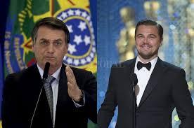 Insólito: Jair Bolsonaro acusó a Leonardo Di Caprio de financiar los incendios en el Amazonas