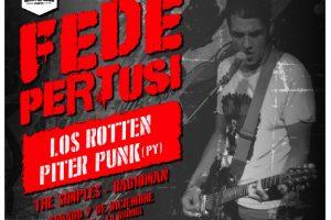 Fede Pertusi trae lo mejor del punk rock a La Bionda