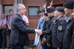 Passalacqua inauguró la comisaría de Puerto Leoni