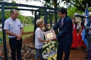 Con un memorial de la Trinchera de San José, se celebró el 149 aniversario de Posadas