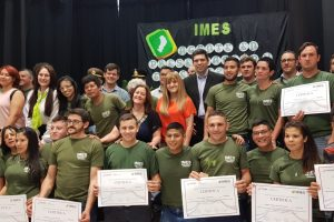Egresaron los primeros agentes de preservación y fiscalización de bosques formados en el IMES