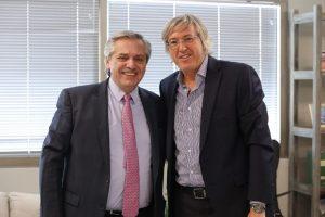 Alberto Fernández recibió al empresario Alejandro Roemmers