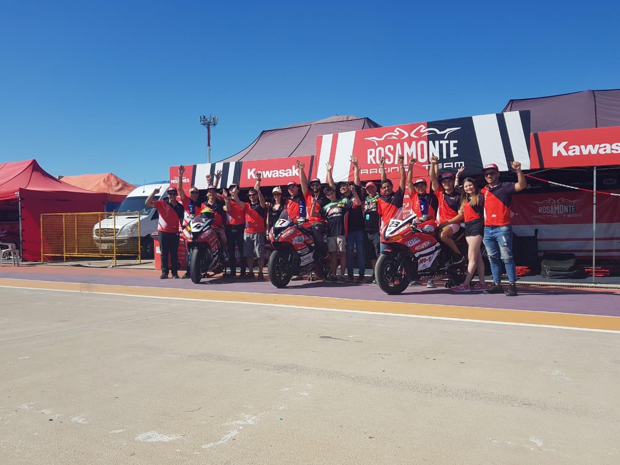 El Rosamonte Racing cerró su temporada 2019 con tres podios en San Nicolás