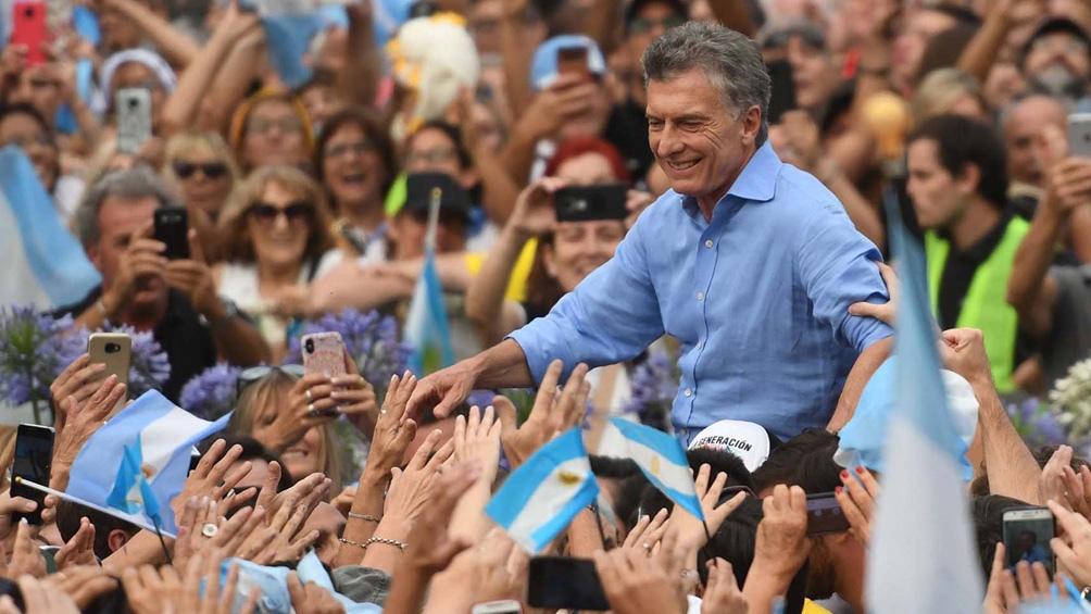 Macri: «Cuidemos a nuestra Argentina para que no la roben, no la maltraten, no la estafen»