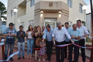 Passalacqua inauguró el nuevo centro cívico de Bonpland