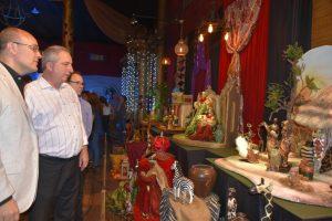 En su último fin de semana como gobernador, Passalacqua participó de la Fiesta de la Navidad en Alem