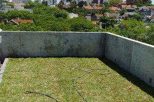 Techos verdes: confirman su eficacia para retardar el escurrimiento de lluvias