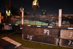 Ocultaba 4.573 kilos de marihuana en un camión