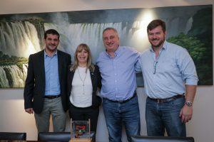 Passalacqua firmó un convenio con la UNaM para la construcción de un auditorio y sala de exposición