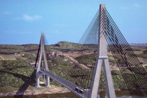Puente de la Integración: comenzaron las obras en Paraguay frente al hito Tres Fronteras