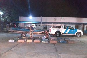 Corrientes: Prefectura truncó una operación millonaria de narcotráfico