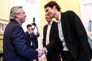Alberto Fernández se reunió con el jefe de Negocios de Google y le propuso «trabajar en equipo»