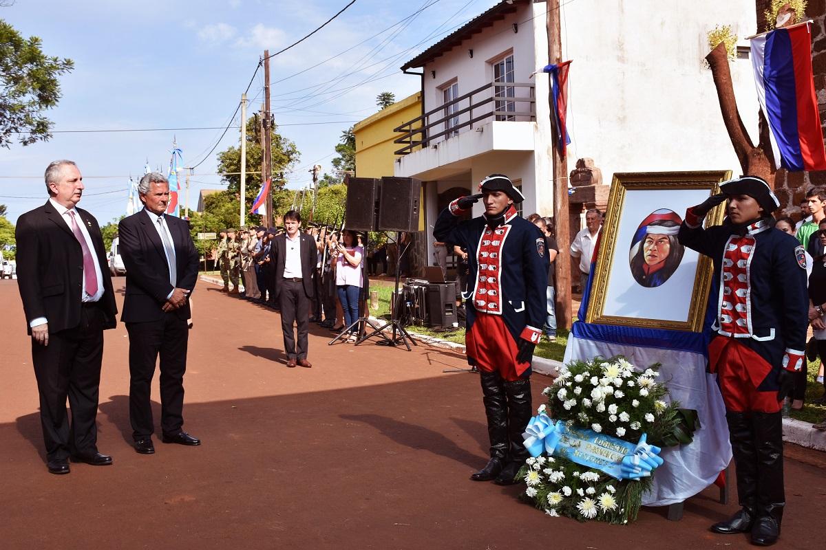 """«Andresito fue ante todo un hombre federal"""", remarcó Passalacqua al evocar al prócer en Concepción de la Sierra"""