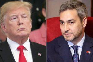 Mario Abdo se reunirá con Donald Trump en Washington