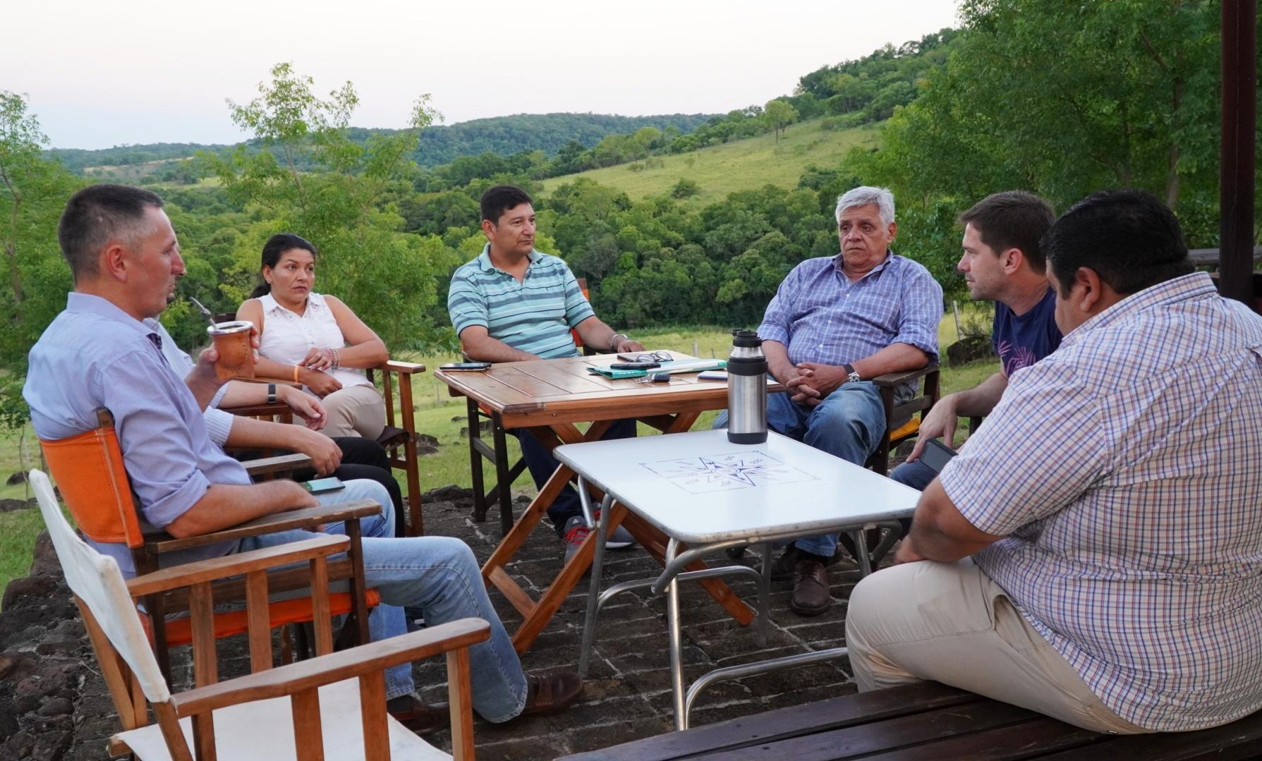 IFAI y la Sociedad Rural de ganado menor buscan acciones en conjunto