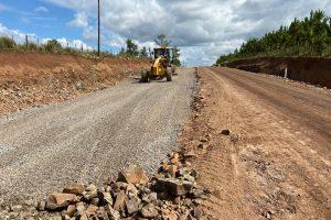 Acceso pavimentado a Profundidad: Avanzan obras del tramo definitivo