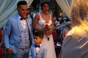 Roberto Edgar Volcán se casó con Jenifer en Puerto Iguazú
