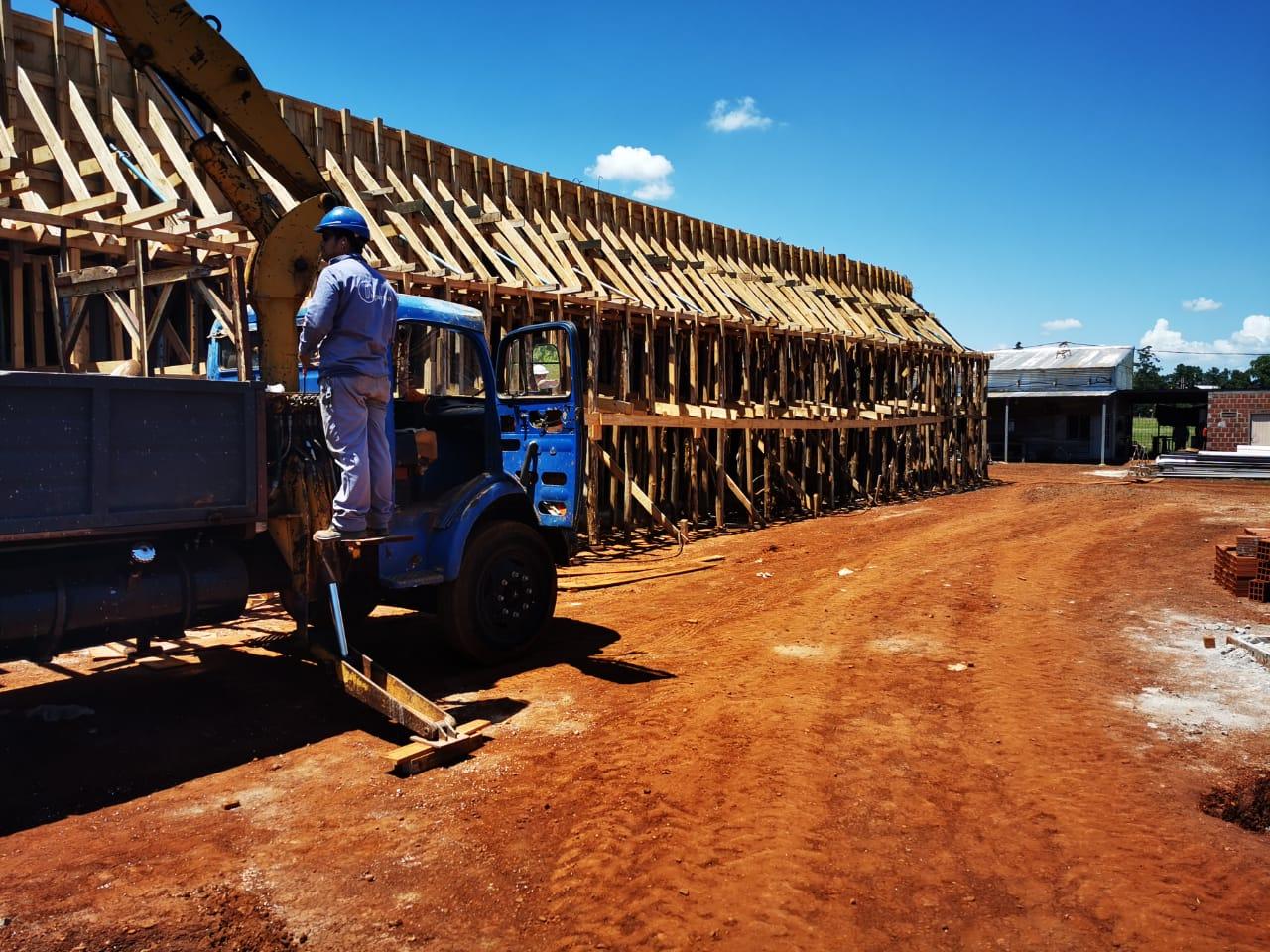 Avanza a pasos agigantados la construcción del edificio de la escuela de Innovación
