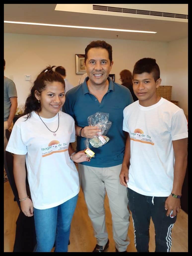 El Gran Melia sumó al Hogar de Día de Iguazú para el programa «Soap for Hope»