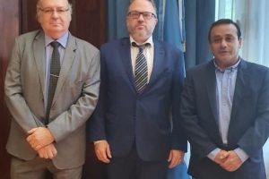 Herrera, Kulfas y Lichowski trataron agenda de desarrollo productivo de Misiones