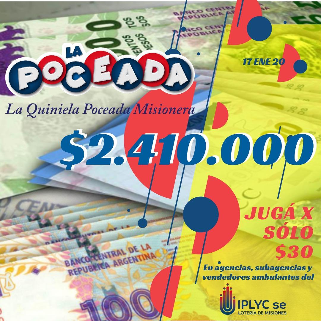 Empleado de Concepción de la Sierra se ganó casi dos millones con la Poceada
