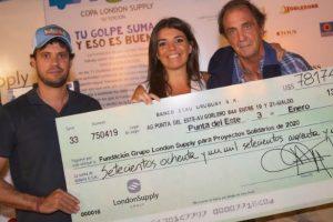 El torneo de golf solidario de London Supply Group recaudó más de $47 millones